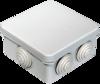 Промрукав Коробка распаячная 40-0210 для о/п безгалогенная (HF) 80х80х40 (105шт/кор) Промрукав
