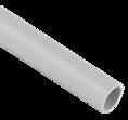 Труба гладкая ПВХ серая D 32мм 2м SV Profile
