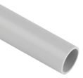 Труба гладкая ПВХ серая D 50мм 2м SV Profile