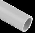 Труба гладкая ПВХ серая D 63мм 2м SV Profile