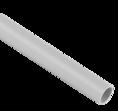 Труба гладкая ПВХ серая D 20мм 3м SV Profile
