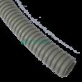 Труба гофрированная ПВХ сверхтяжелая с/з д25 (50м/2600м уп/пал) Промрукав