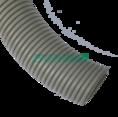 Труба гофрированная ПВХ сверхтяжелая с/з д40 (15м/960м уп/пал) Промрукав