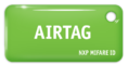 MIFARE ID AIRTAG Standart (зелёный)