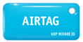 MIFARE ID AIRTAG Standart (голубой)
