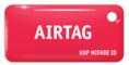 MIFARE ID AIRTAG Standart (красный)
