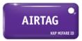 MIFARE ID AIRTAG Standart (фиолетовый)