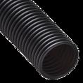 Труба гофрированная ПНД лёгкая безгалогенная (HF) стойкая к ультрафиолету с/з д63 (15м/360м уп/пал) Промрукав
