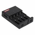 Универсальное SMART зарядное устройство для 4 АКБ  Rexant I 4 (18-2244)