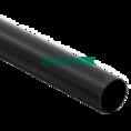Труба жесткая ПВХ 3-х метровая легкая черная д40 (60м/уп) Промрукав