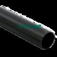 Труба жесткая ПВХ 3-х метровая легкая черная д50 (30м/уп) Промрукав
