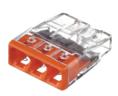 2273-203 ∙ Экcпресс-клемма, 3-проводная до 2,5 мм² WAGO (07-5132)
