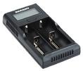 универсальное зарядное устройство для 2-х АКБ с жк дисплеем Rexant i2 (18-2239)