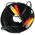 Кабель BNC-BNC для видеонаблюдения (с питанием) L=18m