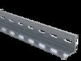L-образный профиль, L1000, толщ.2,5 мм, нержавеющий DKC (BPM2510INOX) кратно 1м