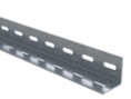 L-образный профиль, L3000, толщ.2,5 мм, нержавеющий DKC (BPM2530INOX) кратно 3м