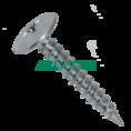 Саморезы 4,2х25 полусфера-прессшайба, цинк 500 шт