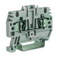 HMM.6GR, проходной зажим серый 6 кв.мм DKC Quadro (ZHM320GR) кратно 30шт