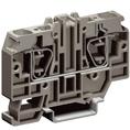 HMM.10/GR, проходной зажим серый 10 кв.мм DKC Quadro (ZHM330GR) кратно 30шт