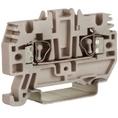 HMM.2GR, проходной зажим 2,5 кв.мм серый DKC Quadro (ZHM500GR) кратно 80шт