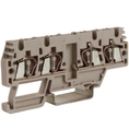 HMM.2/2+2/AGR, проходной зажим, 2 ввод/2 вывода, серый 2,5 кв.мм, разомкнутые DKC Quadro (ZHM170GR) кратно 60шт