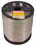 Трос стальной в ПВХ изоляции d=5.0 мм, катушка 100 метров  REXANT (09-5250)