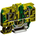 HTE.10, зажим для заземления, 10 кв.мм желто-зеленый DKC Quadro (ZHT330) кратно 30шт