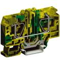HTE.16, зажим для заземления, 16 кв.мм желто-зеленый DKC Quadro (ZHT340) кратно 30шт