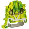 HTE.1, зажим для заземления, 1,5 кв.мм желто-зеленый DKC Quadro (ZHT400) кратно 80шт