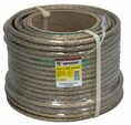 Трос стальной в ПВХ изоляции d=10.0 мм, катушка 50 метров  REXANT (09-5300)
