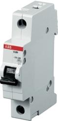 2CDS251001R0254  ABB S201 C25 Автоматический выключатель 1P 25А (С) 6kA (81-0045)