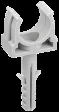 CTA10MP-CT16-K41-100 ∙ Держатель с защёлкой и дюбелем CT16 (без винта) IEK ∙ кратно 100 шт