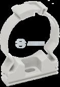 CTA10MP-CFC20-K41-100 ∙ Хомутный держатель серый CFC20 IEK ∙ кратно 100 шт