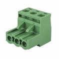 Клеммная колодка винтовая угловая (2EDGK-03P) 5мм 3 контакта (упаковка 100шт.) (16-0903-9)