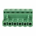 Клеммная колодка винтовая угловая (2EDGK-06P) 5мм 6 контактов (упаковка 50шт.) (16-0906-9)