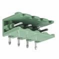 Разьемный клемный блок угловой (2EDGR-04P) 5мм 4 контакта (упаковка 100шт.) (16-0914-9)