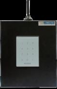S632-2GSM-KBK24-BW (под АКБ 1,2 Ач, с клавиатурой, цвет бокса черный, цвет клавиатуры белый)
