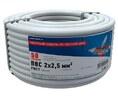 Провод ПВС 2x2,5 мм² 50 м ГОСТ REXANT (01-8036-50)
