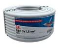 Провод ПВС 3x1,5 мм² 20 м ГОСТ REXANT (01-8046-20)