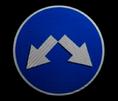 Знак 4.2.3 2-й типоразмер D=700мм