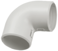 CTA10D-CIG16-K41-005 ∙ Поворот открывающийся на 90гр. CI16G IEK (5 шт/упак) ∙ кратно 10 упак