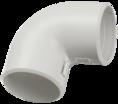 CTA10D-CIG25-K41-050 ∙ Поворот открывающийся на 90гр. CI25G IEK ∙ кратно 50 шт