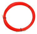 Протяжка кабельная (мини УЗК в бухте), стеклопруток, d=3,5мм, 25м КРАСНАЯ (47-1025)