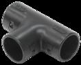 CTA10D-TIG20-K02-050 ∙ Тройник открывающийся TI20G IEK черный ∙ кратно 50 шт