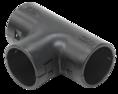 CTA10D-TIG32-K02-020 ∙ Тройник открывающийся TI32G IEK черный ∙ кратно 20 шт