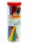 Набор хомутов цветных пластиковых НХ-2  REXANT (07-7202)