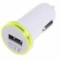 Автозарядка в прикуриватель USB (АЗУ) (5V, 2100mA) белая REXANT (18-1937) кратно 10 шт