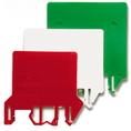 DFH/1/ROSSO, цветной разделитель/изолятор DKC Quadro (ZDH01R) кратно 25шт