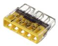 2273-205 ∙ Экcпресс-клемма, 5-проводная до 2,5 мм² WAGO (07-5134)