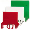 DFU/3/ROSSO, цветной разделитель/изолятор DKC Quadro (ZDU03R) кратно 50шт